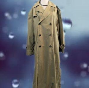 Ralph Lauren Trench Coat Size 12